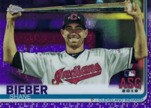 shane bieber rookie card