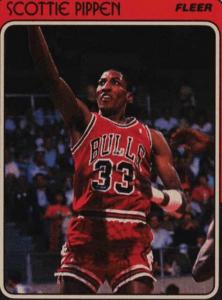Scottie Pippen Rookie Card: 1988 Fleer