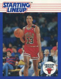Scottie Pippen Rookie Card: 1988 Kenner
