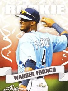 Wander Franco Rookie Card Leaf