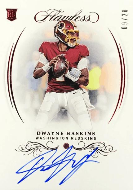 Flawless Dwayne Haskins Rookie Card