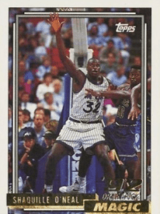 most valuable shaq cards