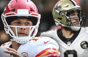 2020 NFL MVP Predictions Quarterfinals Brees vs. Mahomes