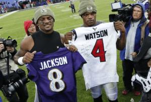 2020 NFL MVP Predictions Quarterfinals Jackson vs. Watson