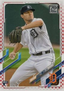 topps casey mize rookie card