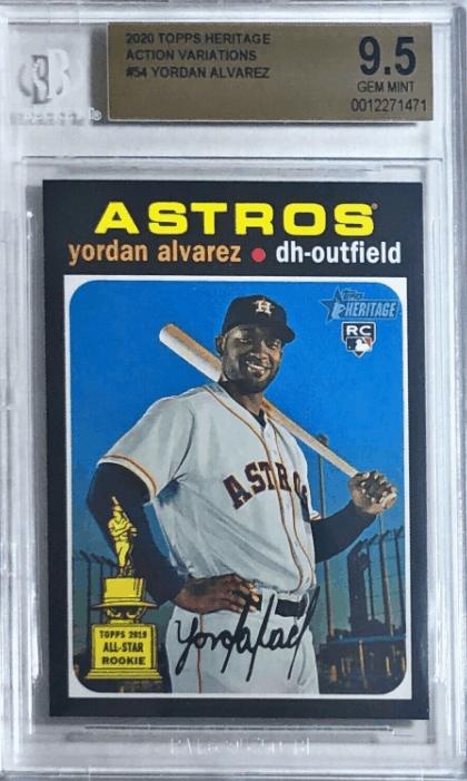 Yordan Alvarez Rookie Card