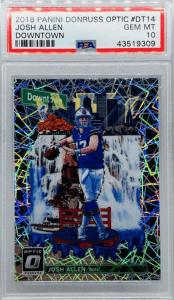 Allen donruss optic rookie card