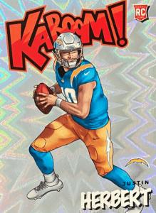 justin herbert absolute rookie card