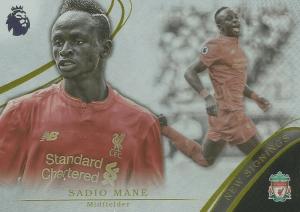Sadio Mane Trading Cards Topps