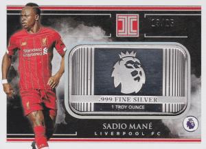 Sadio Mane trading cards silver