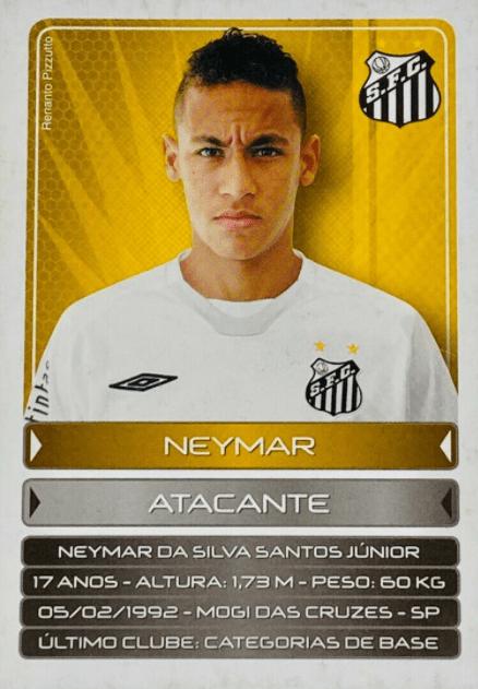 most valuable Neymar Jr. cards