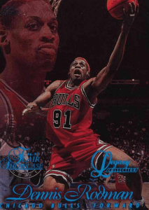 Dennis Rodman rookie card legacy