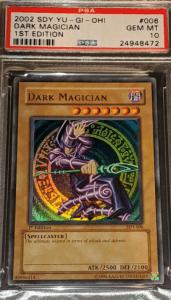 most valuable dark magician yugioh card