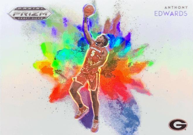 anthony edwards rookie card
