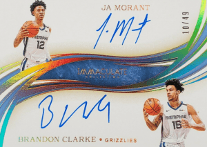 brandon clarke rookie card