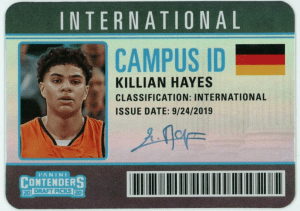 killian hayes rookie card
