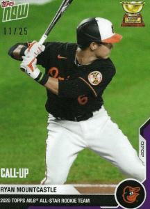 mountcastle hottest baseball rookie cards 2020