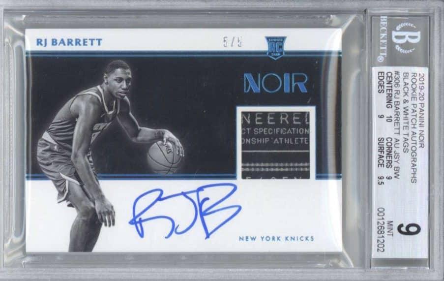 RJ Barrett Rookie Card