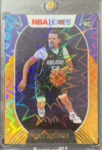 cole anthomny rookie card nba hoops