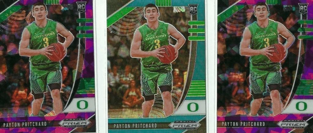 payton pritchard rookie card