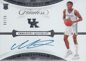 immanuel quickley rookie card