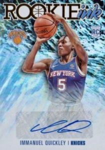 immanuel quickley rookie card hoops