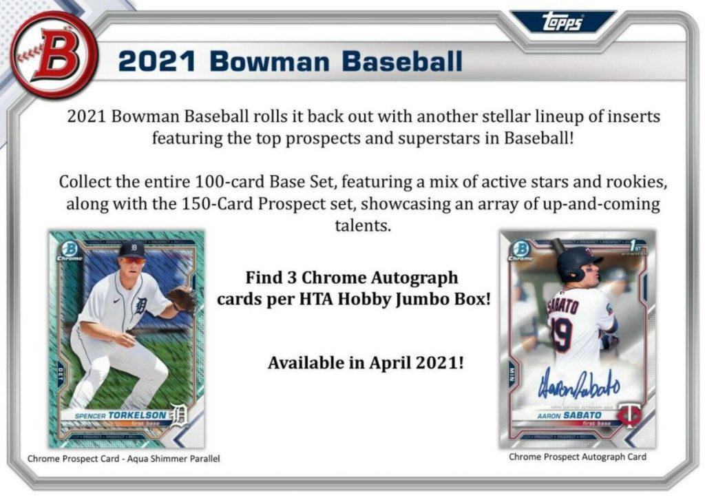 2021 bowman baseball release date