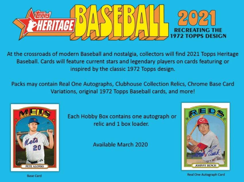 2021 topps heritage