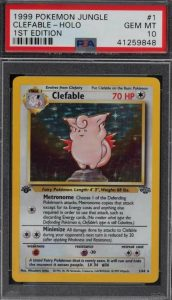 clefable pokemon jungle booster pack