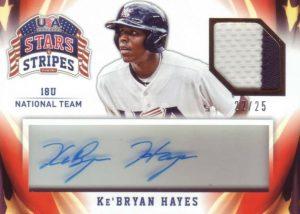 ke'bryan hayes rookie card