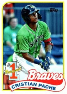 topps update cristian pache rookie card