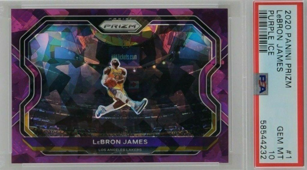 hottest lebron james cards on eBay