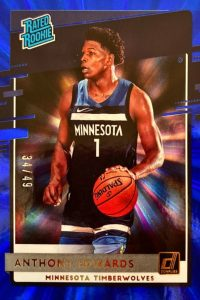 edwards hottest basketball rookie cards 2020-21