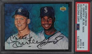 upper deck best baseball card sets of the 90s