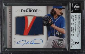 jacob degrom rookie card