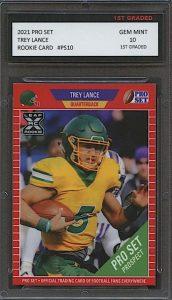 trey lance rookie card pro set