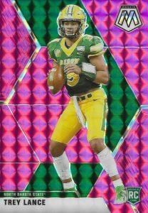 mosaic trey lance rookie card