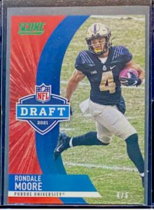rondale moore rookie cards score