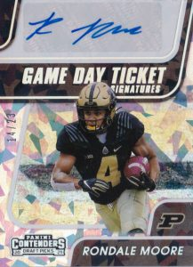 Rondale Moore rookie cards