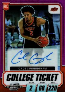 cade cunningham rookie card chronicles